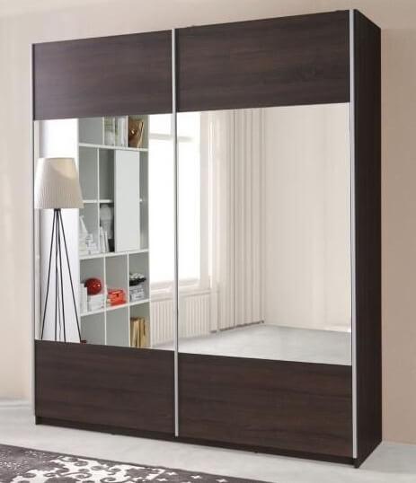 Dressing cu uși glisante și oglindă