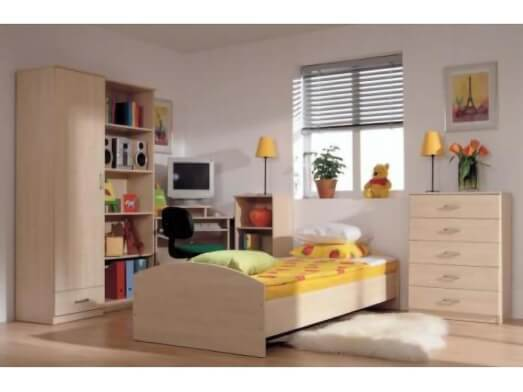 Mobilă dormitor tineret - model ARCA