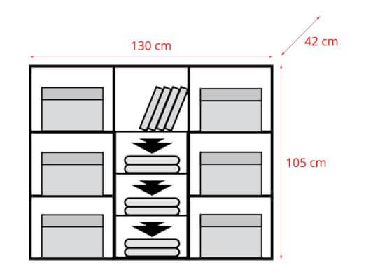 Dormitor-DOME-sonoma-cu-alb-comoda-cote-7b