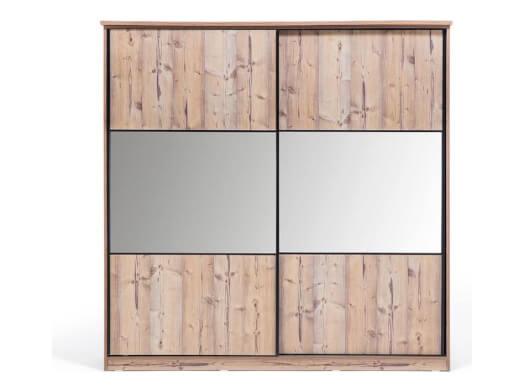 Dressing cu uși glisante și oglindă - model SAMBA