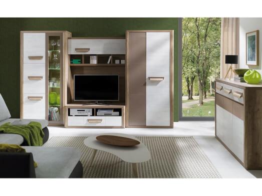 Mobilă living, PAL mat și lucios - model ANCONA A