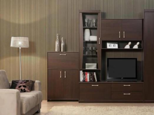 Mobilă sufragerie, wenge - model CLASICO