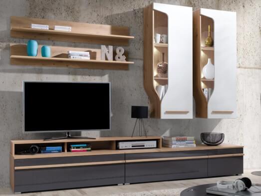 Mobilă living, 260 x 195 x 45 cm - model PORTO C