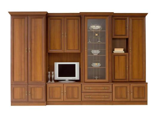 Bibliotecă de sufragerie, clasică - model WIKI B