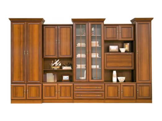 Bibliotecă de sufragerie, clasică - model WIKI C