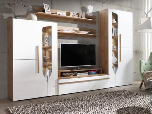 Mobilă living, 294 x 195 x 45 cm - model PORTO A