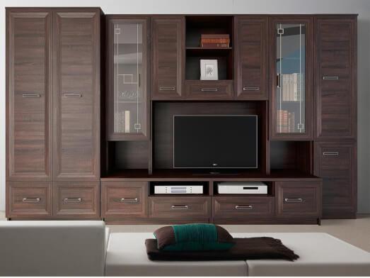 Bibliotecă de sufragerie - model LOTUS