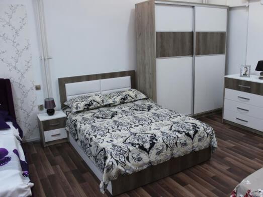 Mobilă de dormitor cu dressing - model NORD