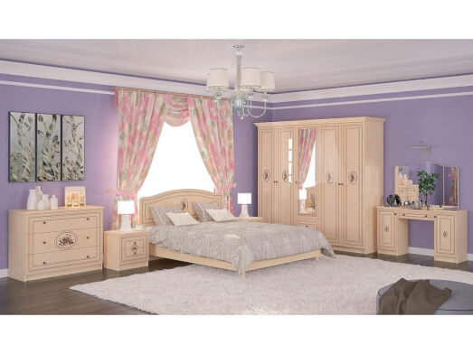 Dormitor complet - model FLORIS