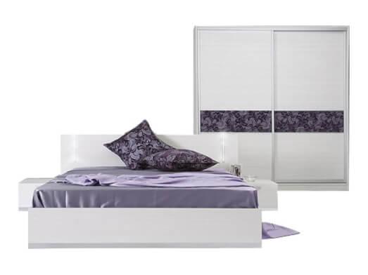 Mobilă dormitor - model WHITE