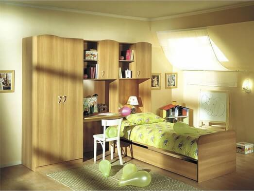 Mobilă dormitor tineret - model WOOD