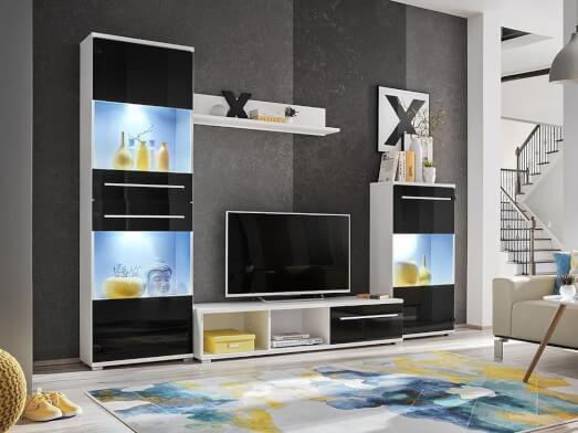 Mobilă living modern, 270 x 190 x 40 cm - model LIPPI 3