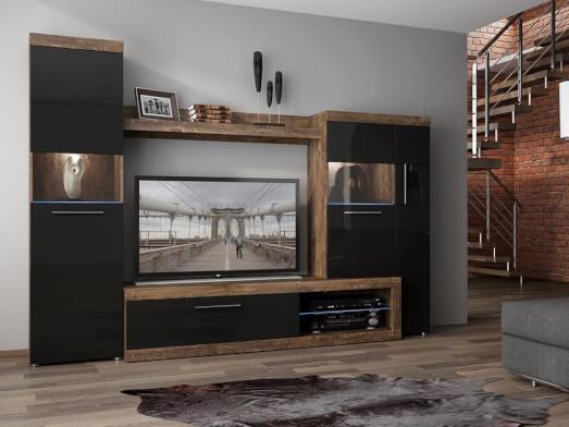 Mobilă modernă sufragerie, 270 x 194 x 48 cm - model SICILY