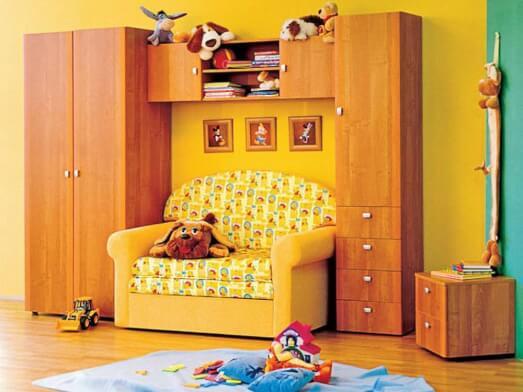 Mobilă dormitor tineret - model TED