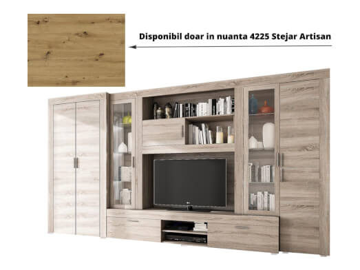 Bibliotecă pentru sufragerie - model RELAX