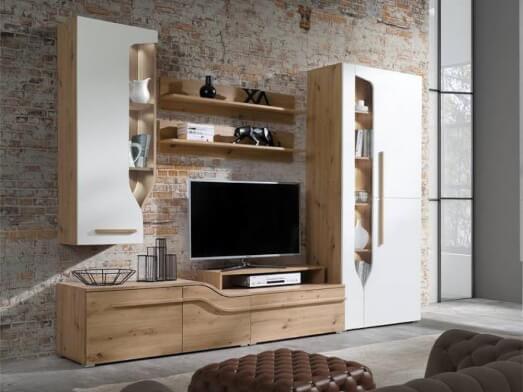 Mobilă living, 274 x 195 x 45 cm - model PORTO B