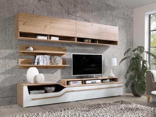 Mobilă living, 260 x 195 x 45 cm - model PORTO D