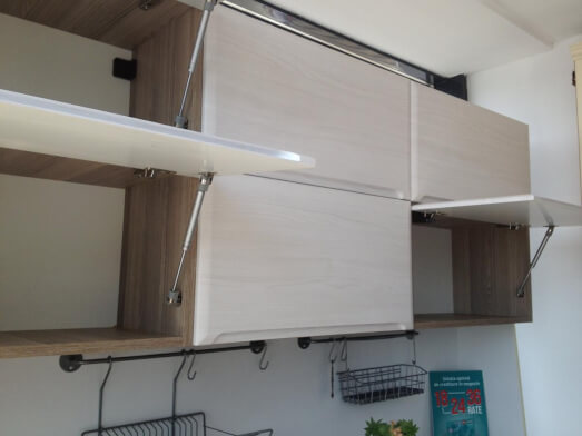 Mobilă bucătărie MDF înfoliat - model NORD