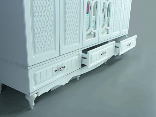 dormitor-clasic-din-mdf-alb-model-inci-detaliu-sifonier-cu-6-usi-d1