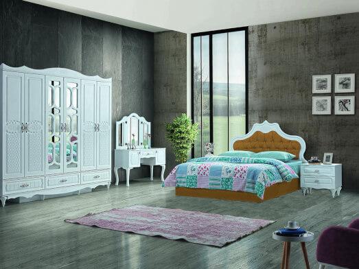 dormitor-clasic-din-mdf-alb-model-inci-pat-mustar-MAX-101-72