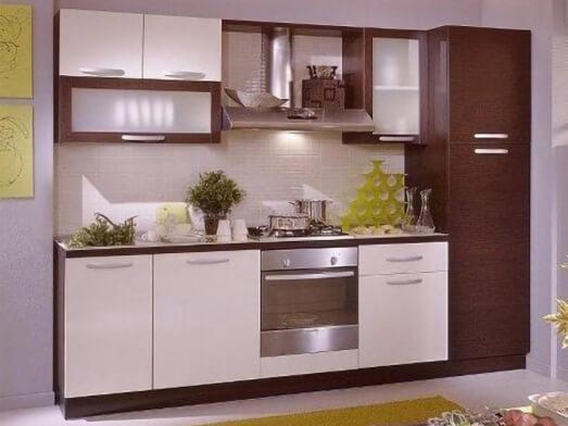 Mobilă bucătărie - model BROWN