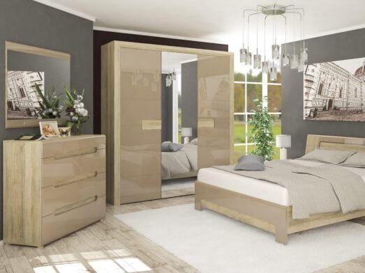 Set mobilă pentru dormitor - model FLORENCE
