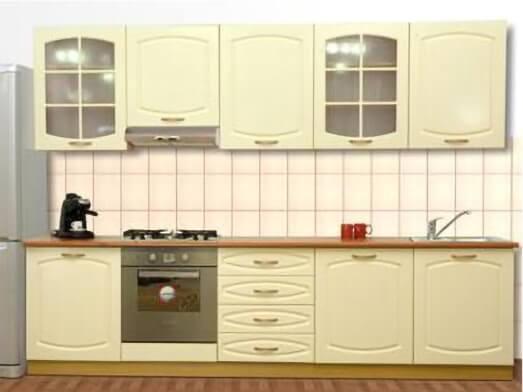 Mobilă bucătărie, MDF înfoliat - model CLASIC
