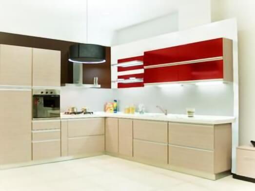 Mobilă de bucătărie pe colț - model MARA